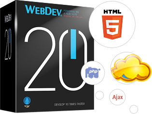 WEBDEV: Create 10 times faster Internet, Intranet and SaaS sites