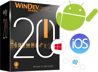 WINDEV Mobile: Create in just a few hours your iOS, Android, Windows Phone applications