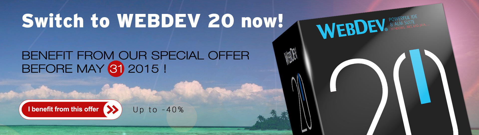 Switch to WEBDEV 20 now!