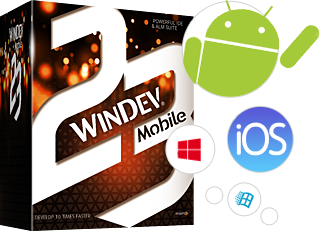 WINDEV Mobile: Create in just a few hours your iOS, Android, Windows 10 Mobile applications