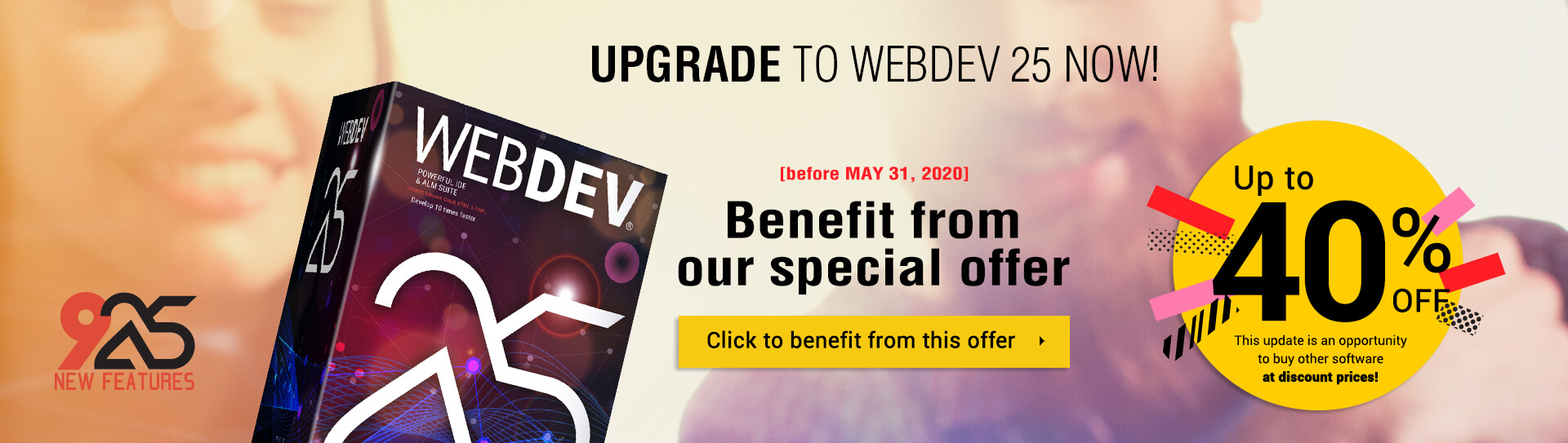 Upgrade to WEBDEV 25 now