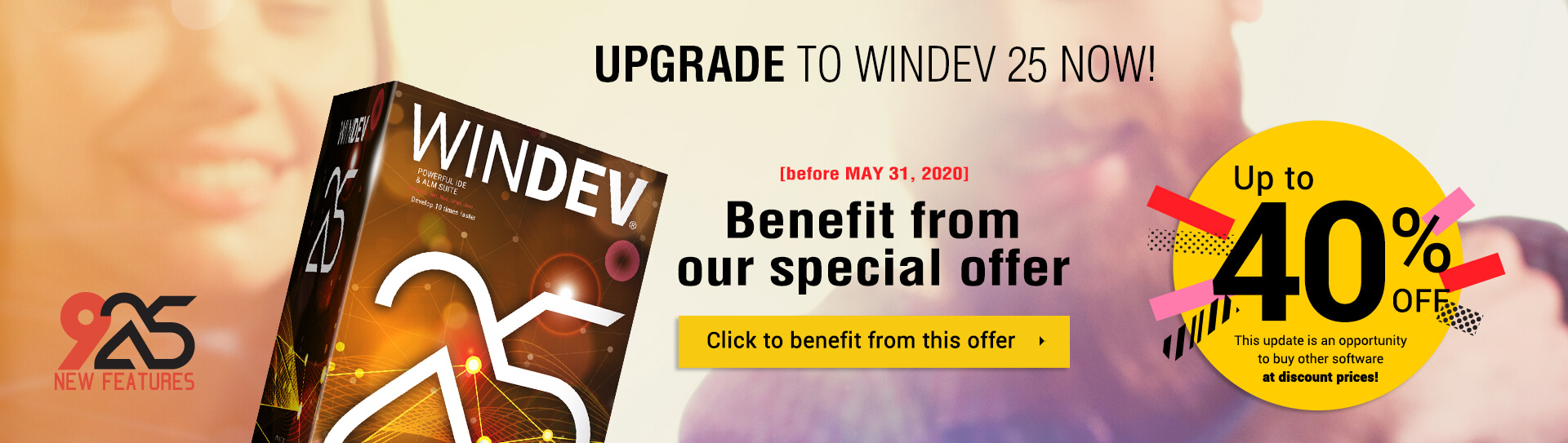 Upgrade to WINDEV 25 now