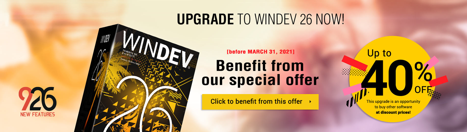 Upgrade to WINDEV 26 now