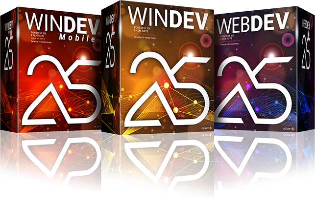 Package WINDEV, WINDEV Mobile and WEBDEV