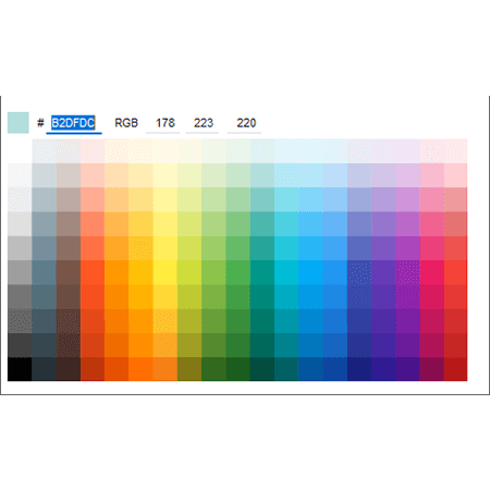 Smart control: Color picker